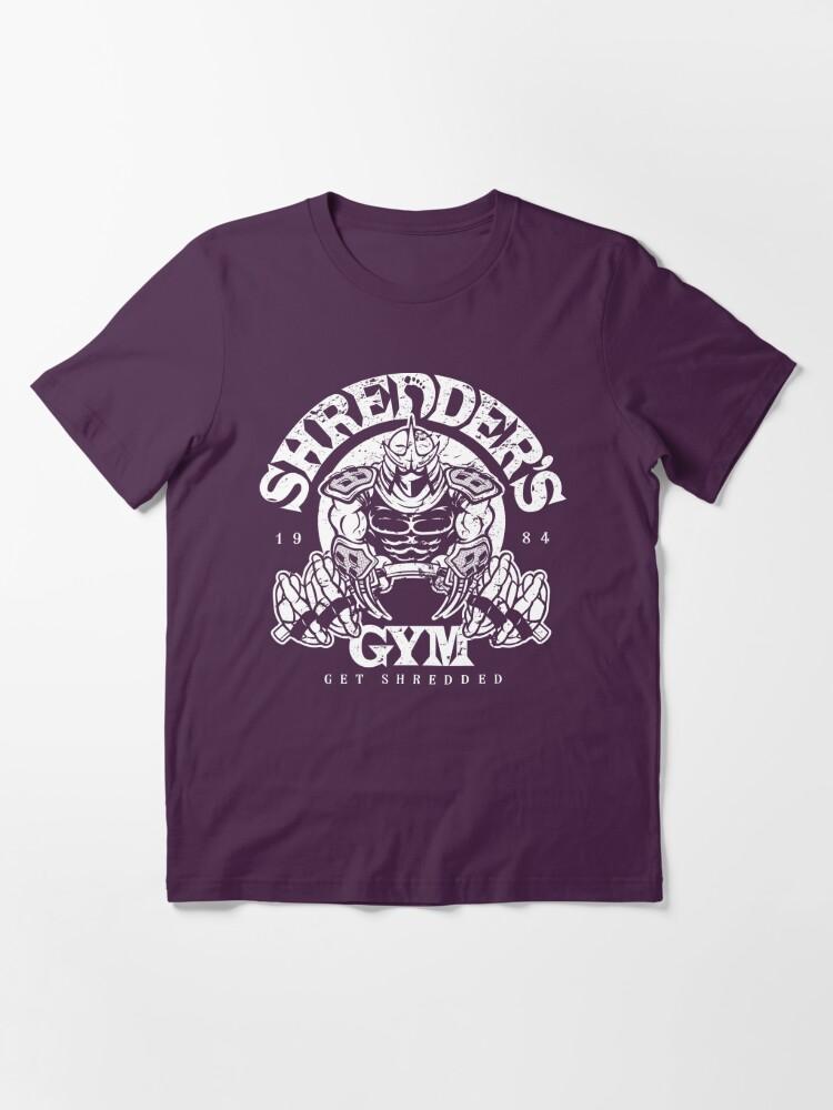 Alternate view of Shredder's Gym Essential T-Shirt