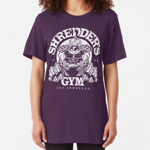 Shredder's Gym Slim Fit T-Shirt