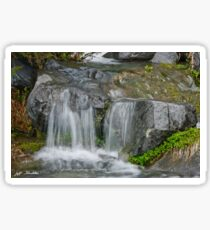 Waterfall on the Paradise River Sticker