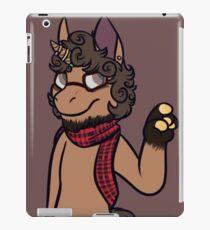 anthro pony iPad Case/Skin