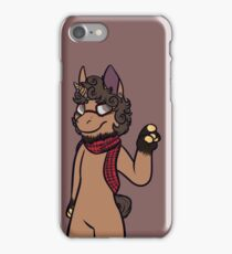 anthro pony iPhone Case/Skin