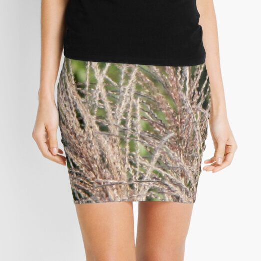 Wild Grass Mini Skirt