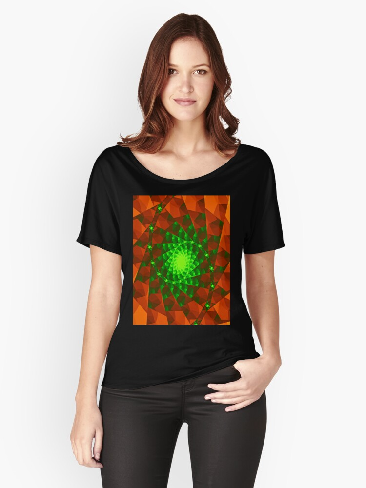 A green place Women's Relaxed Fit T-Shirt Front