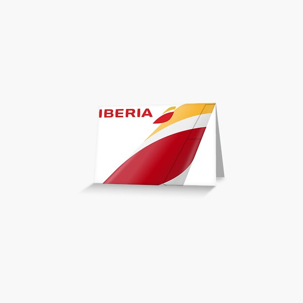 Iberia Logo Greeting Card