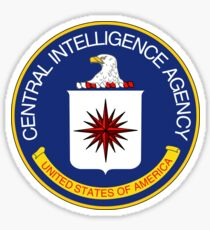 CIA STAMP / SEAL | COLOR Sticker