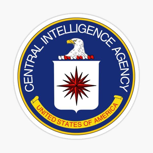 CIA STAMP / SEAL | COLOR Sticker