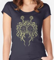 Flying Spaghetti Monster (pasta) Women's Fitted Scoop T-Shirt