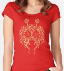 Flying Spaghetti Monster (pasta) Women's Fitted Scoop T-Shirt