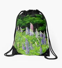 Lupins V Drawstring Bag