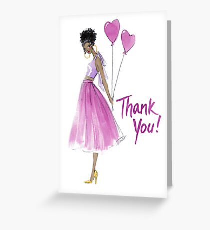 """""""This Heart's For You"""" Thank You Card Greeting Card"""