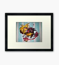 The Angry Beavers Framed Print