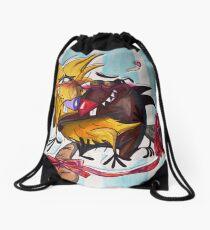 The Angry Beavers Drawstring Bag