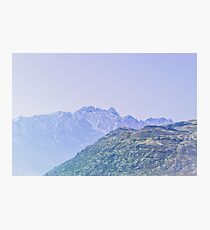 Lavender Hue, New Zealand Landscape Photographic Print