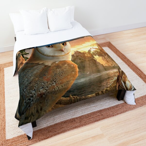 Owl Battles Comforter