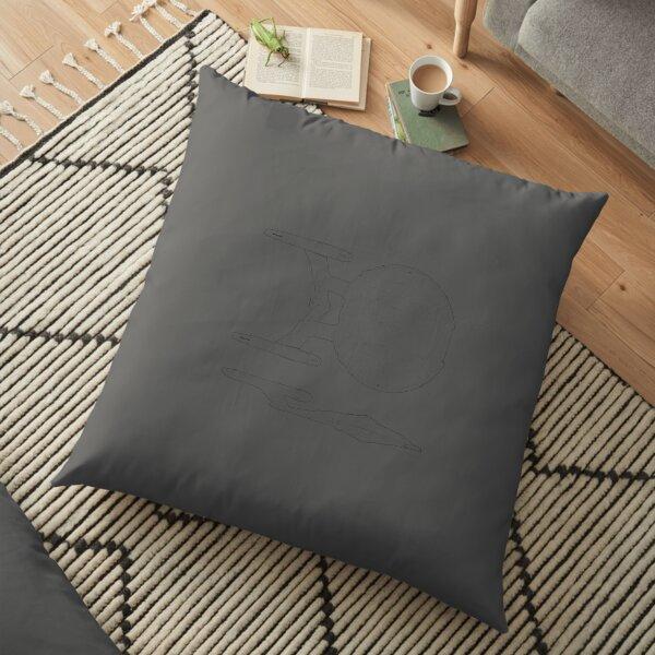 S tar rek Enterprise NX 01 Schematic Nice Gift Floor Pillow