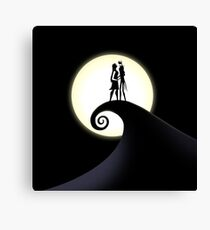 Jack Skellington & Sally Canvas Print