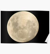 Full moon. Poster