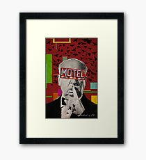 Public Figures Collection -- Hitchcook by Elo Framed Print