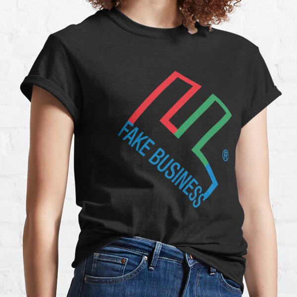 8ts Fake Business Homage Classic T-Shirt