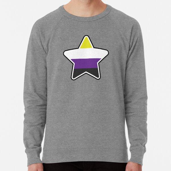 Non-Binary Star Lightweight Sweatshirt
