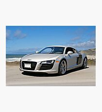 Audi 'Silver Fox' R8 Photographic Print