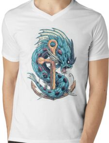 Mega Dragon Rage Mens V-Neck T-Shirt