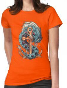 Mega Dragon Rage Womens Fitted T-Shirt