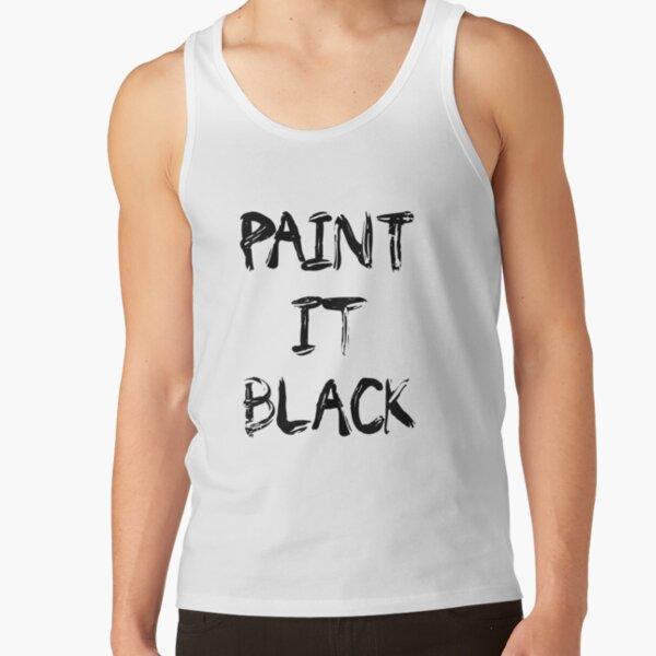 paint it black Tank Top