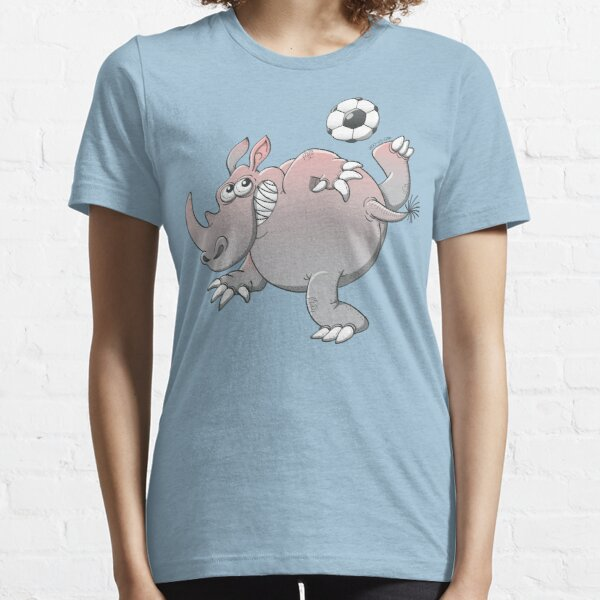 A Rhinoceros is the New Star of Soccer Essential T-Shirt