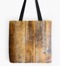 Distressed Wood Texture Tote Bag