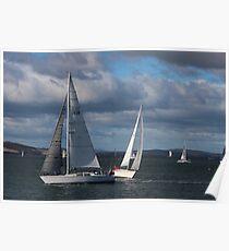 sailing - Hobart Poster