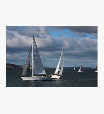 sailing - Hobart Photographic Print