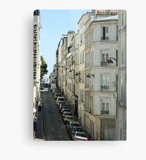 Paris Streetscape Metal Print