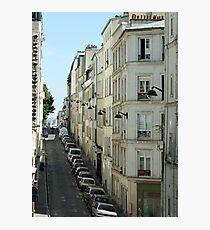 Paris Streetscape Photographic Print