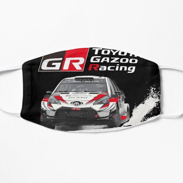 WRC TOYOTA GR YARIS - gazoo racing Sebastien Ogier Ice Racing  Flat Mask