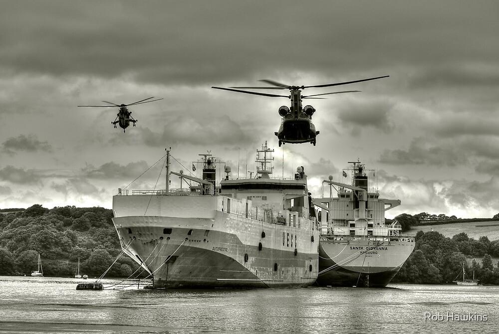 Choppers n Ships  by Rob Hawkins