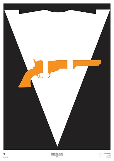 The Godfather Part II Minimal Film Poster\