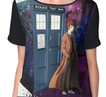 Tenth Doctor Chiffon Top
