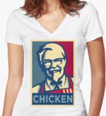 KFC Hope Women's Fitted V-Neck T-Shirt