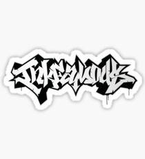 INKfamous piece Sticker