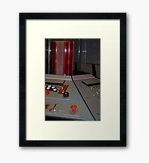 Classic TARDIS Console Framed Print