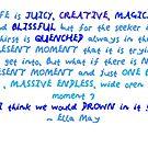 Life is juicy by Ella May