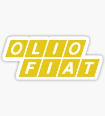 Fiat Yellow Stickers Redbubble