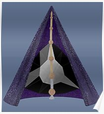 Materialized Deathly Hallows  Poster