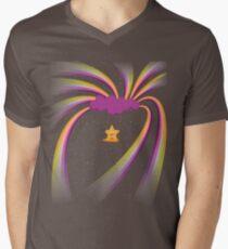 Happy Star Men's V-Neck T-Shirt