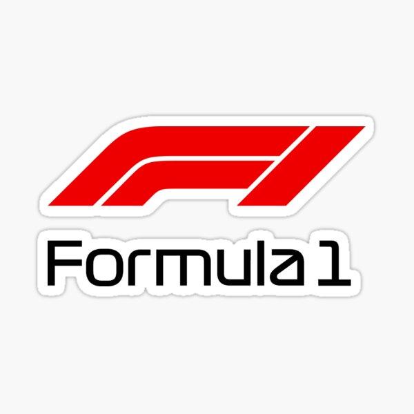 F1 carbon Sticker