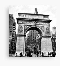 Washington Square Arch Canvas Print