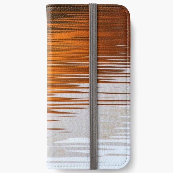 Orange Water iPhone Wallet