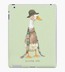 Ducktor Who iPad Case/Skin