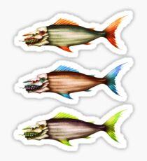 Fish Fish Fish  Sticker